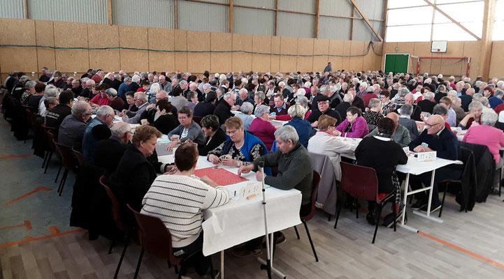 156 équipes à ce concours territorial de belote