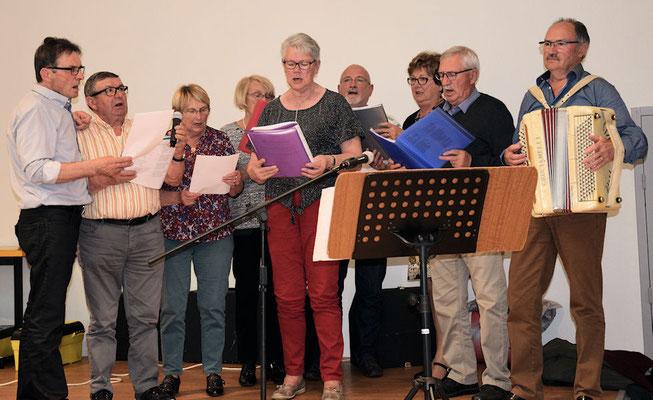 Torcé : La Chorale avec Jo