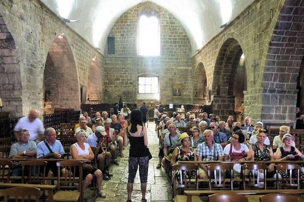 Villefranche de Conflent - Eglise Saint Jacques - Une étape de Compostelle