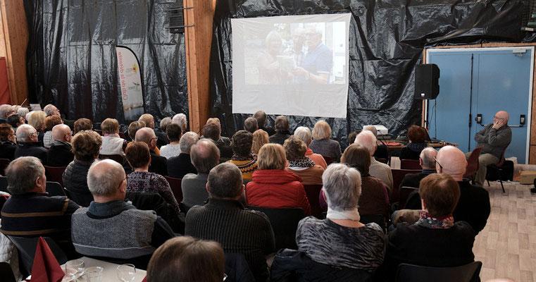 Rétrospective de l'année 2019 avec la présentation d'un diaporama préparé par Christiane Martinais