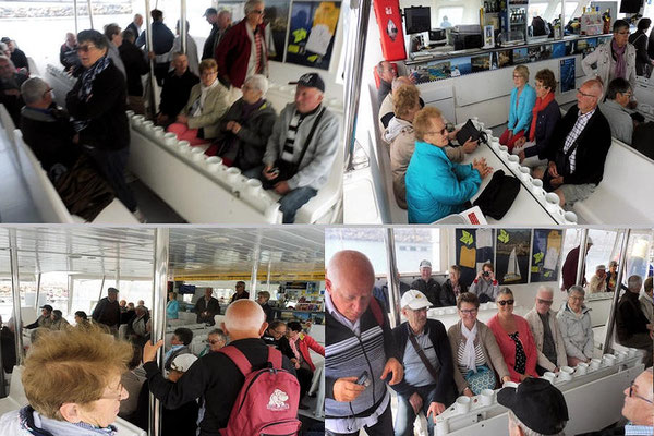 Installation à bord du catamaran