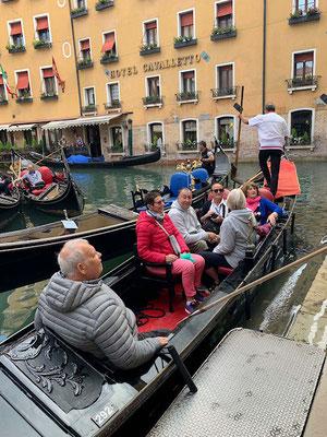 Mardi 10 septembre : Venise départ pour un tour en gondole de 30 minutes