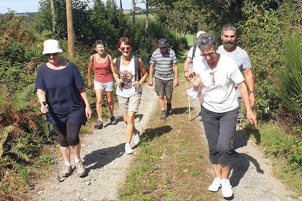 Dans la campagne gennoise, une sortie randonnée de 6,5 km