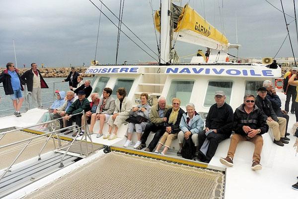 Navigation côtière en catamaran