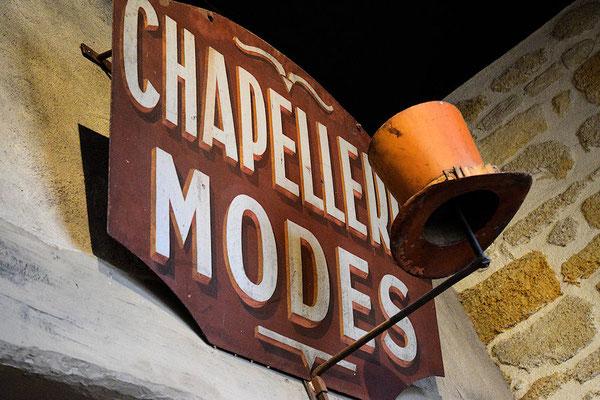 Chapeaux du dimanche ou de tous les jours, entrons à la Chapellerie