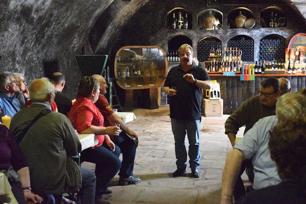 Un regret, Hans ne nous a pas fait déguster son vin de glace à 150€ les 25cl
