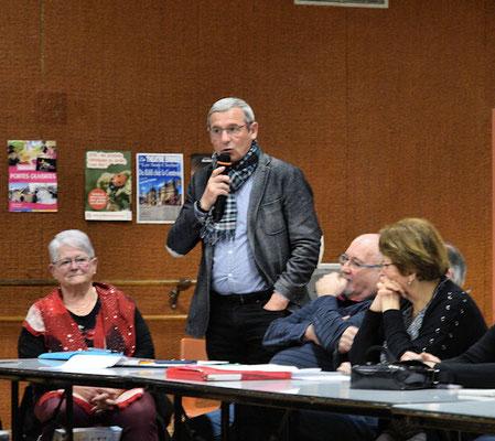 Mr Claude Cailleau adjoint au maire d'Argentré du Plessis