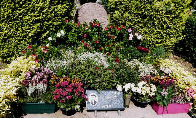 La tombe de Luis Mariano