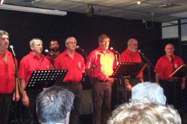Jeudi : Soirée avec le groupe de chanteurs basques