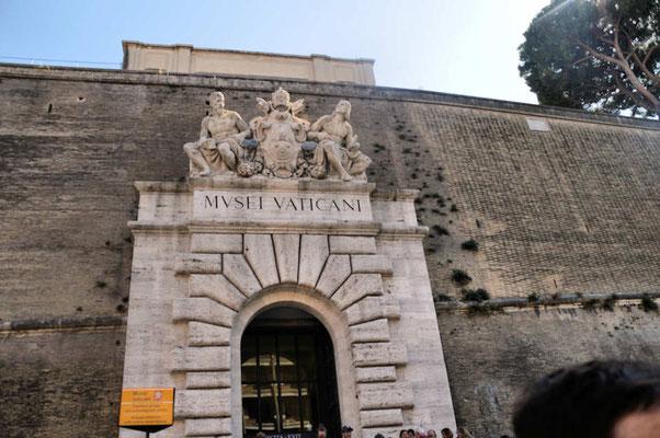 Vendredi 13 septembre : Rome  Musée du Vatican