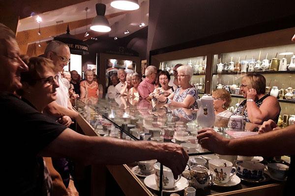 Visite de la chocolatrie à Cambo les Bains