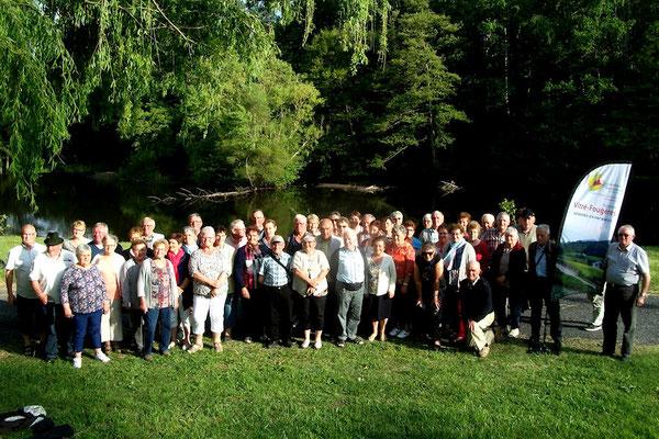 """Notre groupe """"Premier séjour au Moulin de Sournia"""" du 12 au 19 mai"""