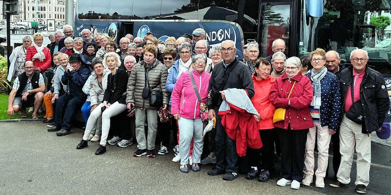 Photo du groupe à Cambo-les-Bains