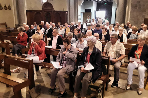 Messe à la chapelle de La Peinière