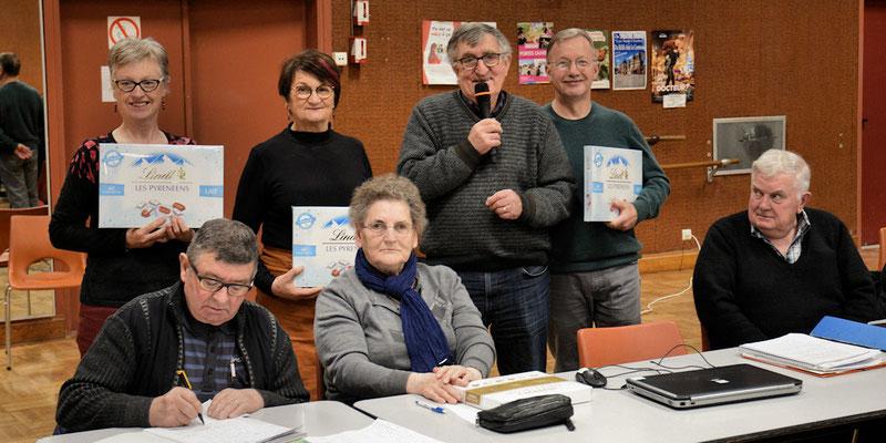 Marie-Thérèse Leguay, Yolande Sorin, Jean-Pierre Mounier et Dominique Viel