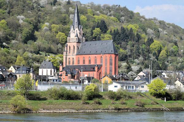 Oberwesel : l'église Notre Dame d'Oberwesel