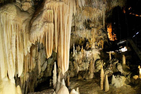Dans les Grottes des Canalettes