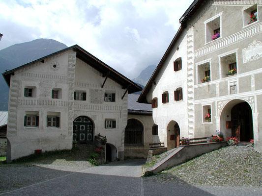 Guarda Dorf, das Schellenurslihaus