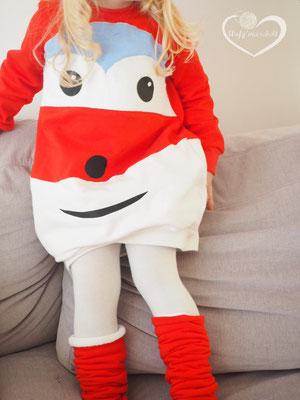 Lybstes. Kostum, Faschingskostüm selber nähen für Kinder, JET-Kostüm