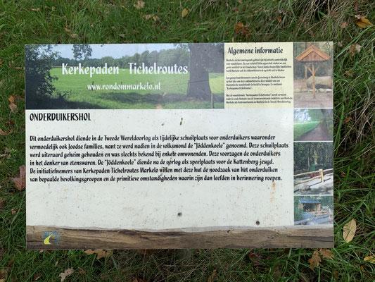 Het onderduikershol op de Kattenberg
