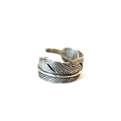 THEFT - feather ring