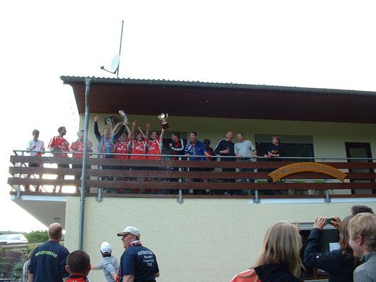 Balkon zum Jubeln