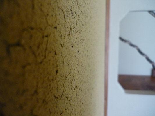 土塗り壁「小ヒビ仕上げ」