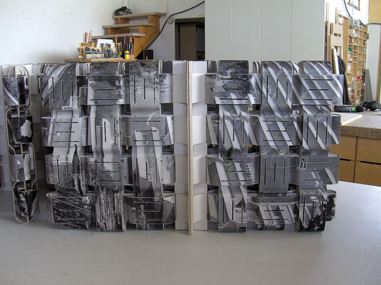 Parkhaus Köln Thomas Bayrle komplette Bücher