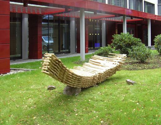 Pinselskulptur solo