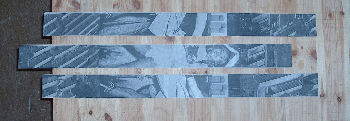 Parkhaus Köln Thomas Bayrle gedruckte Bänder