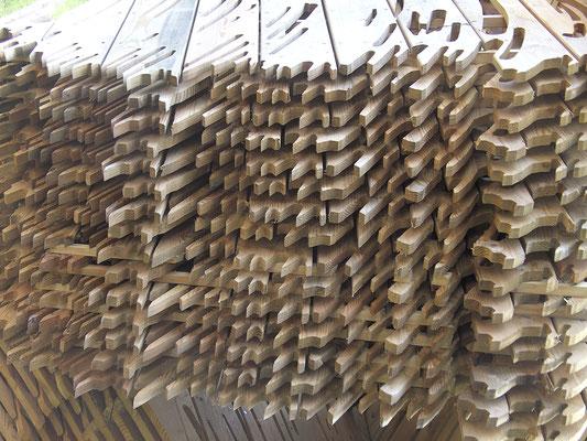Brushstroke Pinselskulptur Detail