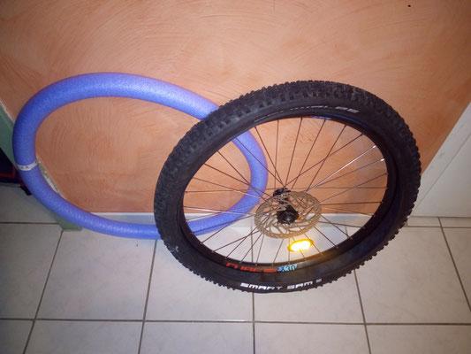 mousse + pneu
