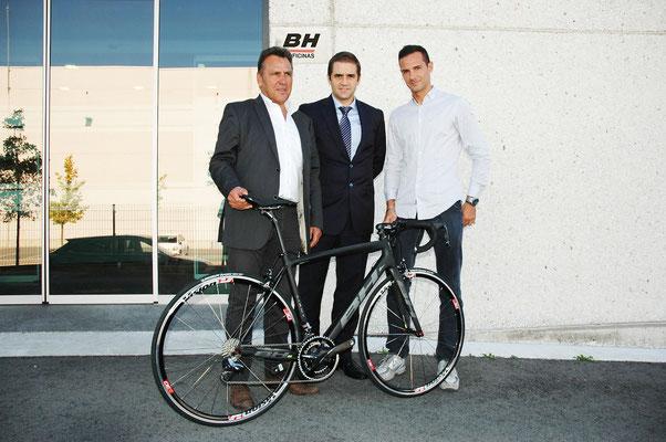 BH équipera pour 2016 l équipe FRANCAISE DIRECT ENERGIE de jean rené BERNAUDEAU