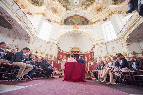 Freie Trauung im Schloss Ludwigsburg – Foto von Carola Böhler