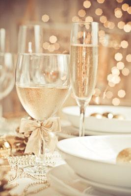 Festessen zu Silvester