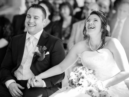 Brautpaar bei freier Trauung – Foto von Barbara + Thorsten Hofbauer, Two-for-You