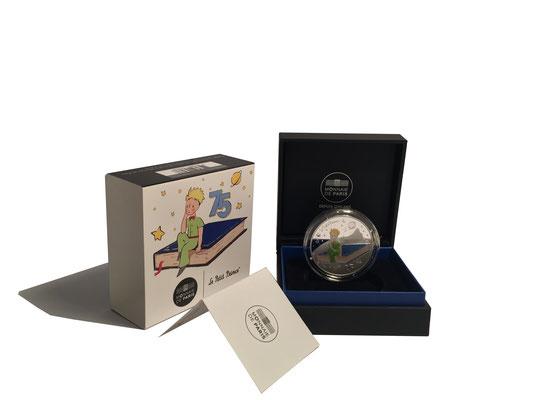 10 Euro Der Kleine Prinz & Buch 2021 Silber