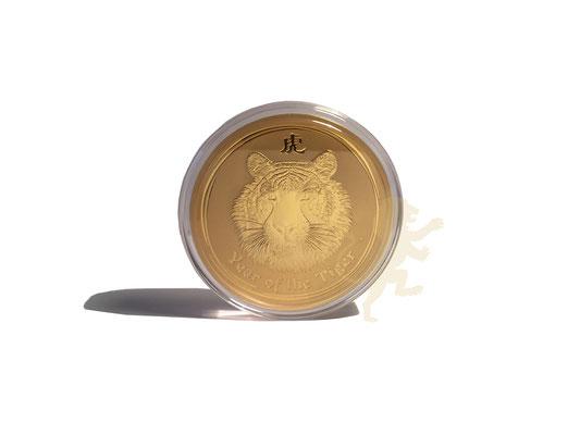 lunar 2 tiger 10 unzen gold #1,  adelshaus