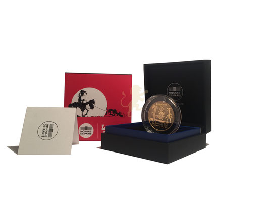100 Euro Lucky Luke 2021 Gold #1