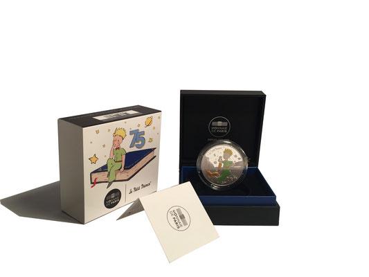 10 Euro Der Kleine Prinz & Fuchs 2021 Silber