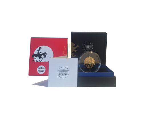50 Euro Lucky Luke 2021 Gold #1