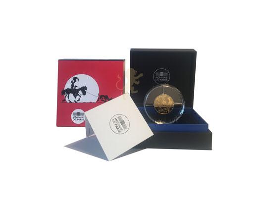 50 Euro Lucky Luke 2021 Gold #3