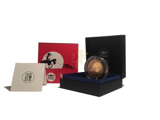 100 Euro Lucky Luke 2021 Gold #3