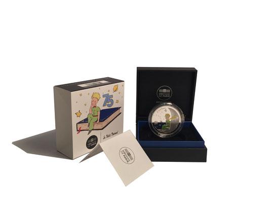 10 Euro Der Kleine Prinz & Mond 2021 Silber