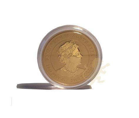 Australien Lunar 3 Ochse 2021 Gold 10 Unzen #2