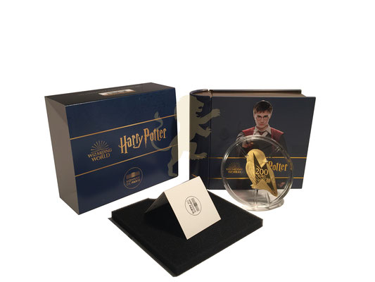 200 Euro Harry  Potter 2021 Gold #1
