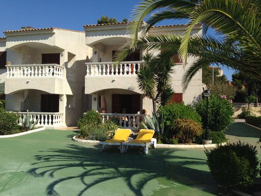 Die Anlage Ferienwohnung El Bosque In Cala Ratjada