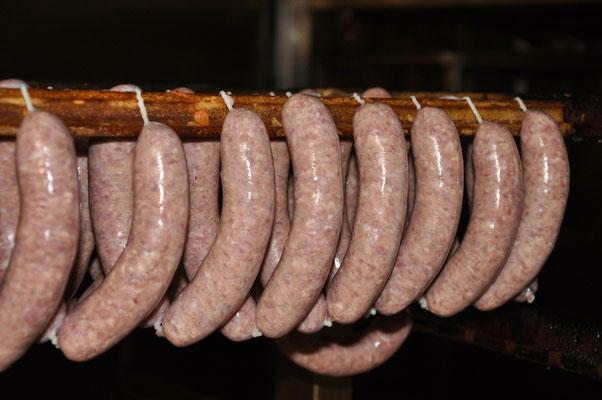 Salvis-Metzg Wimmis,Hausgemachte Schweinsbratwürste