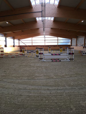 Training in der Halle (20x40m)