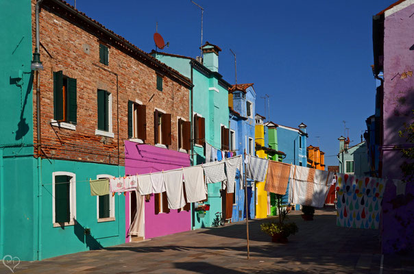 >Waschtag in Burano II<